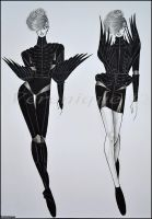 Black avian collection 1. by Verenique