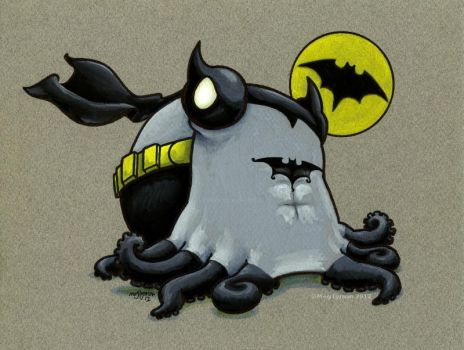 The Caped Cephalopod by MegLyman