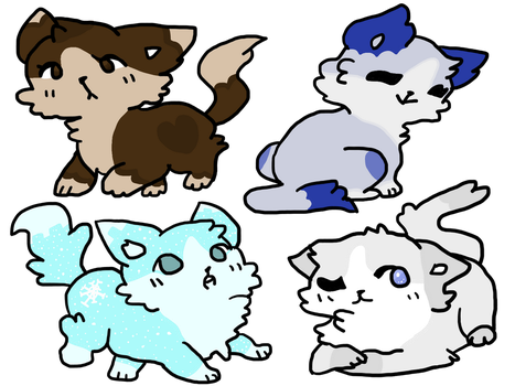 Cat Point Adoptables - Base By Ariamisu - OPEN by eeveeseeker9