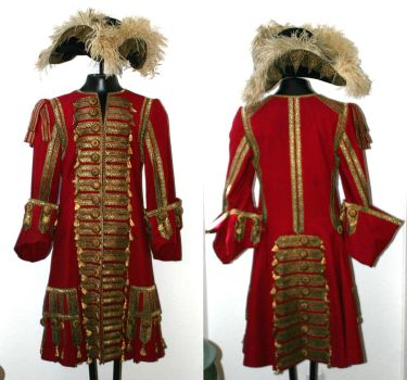 Captain Hook costume from Hook by Jango387