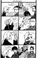 It's chocolate . . . what? FMA by Aaronelf