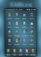 Labeled Theme for iPhone by v-Xemnes