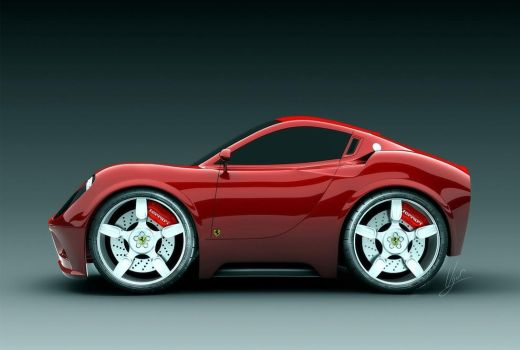 Mini Ferrari Dino Ugur Sahin by TrabzonSport
