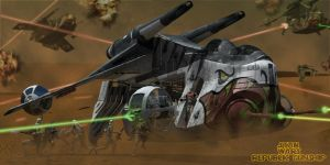Republic Gunship by simjoy
