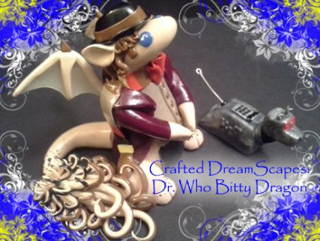 Dr. Who - Tom Baker inspired Dragon Bitty by Crafted-DreamScapes