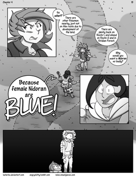 Nuzlocke on Ice: Chapter 4, page 15 by Katarinu