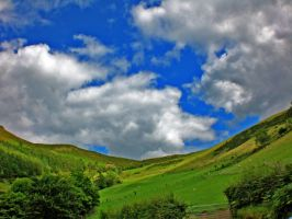 Welsh Hills by friartuck40