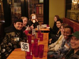 a meal with friends at FC 2011 by hawaiianstile