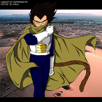 Vegeta Prince of saiyan Desert by Vhila