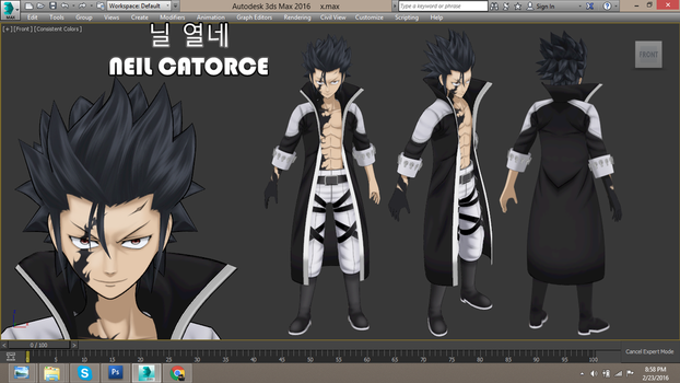 3D Gray Full Buster (Avatar) (Fairy Tail) by neilcatorce