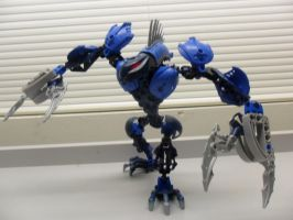 Self MOC-Arwet, The Water Claws 2 by Ciel-Spade