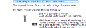 First comment on Bird! by leafclan99
