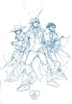 wheel of time ta'veren roughs by deemonproductions