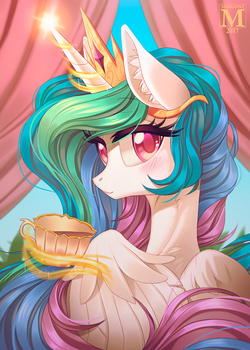 Tea for Princess by Margony