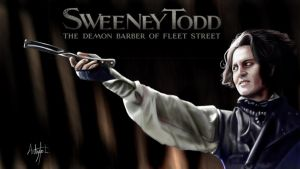 Sweeney Todd Painting by arthurforzus