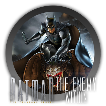 Batman Telltale The Enemy Within - Icon by Blagoicons