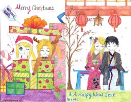 Edwin Xmas and a Royai Newyear by peppermintlight