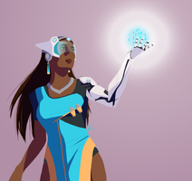 Symmetra by ghostmx
