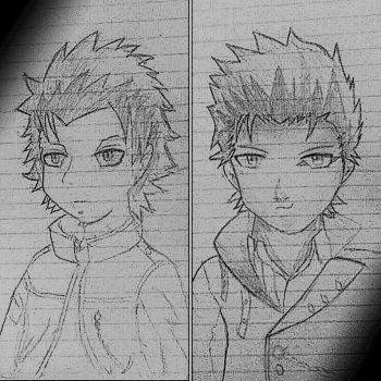 My OC's made by a friend of mine. by KytuzuMastema