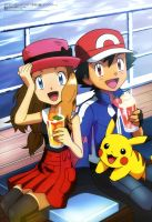 Official AmourShipping poster. by SatoshiLovesSerena