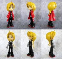 Edward Elric Customized Figure by DragonsAndBeasties