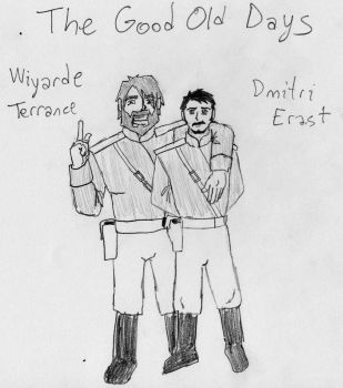 Wiyarde Terrance and Dmitri Erast - first concept by CharGrilledAznable