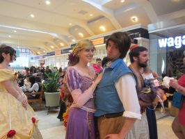 Rapunzel and Flynn Rider by jt0002