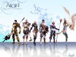Aion: Elyos Race by Joppiz