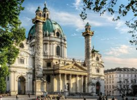 Vienna-St. Charles Church III by pingallery