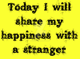 Sharing my Happiness! by Masterstshirts