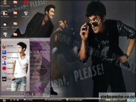 Choi siwon Theme for XP by vinhxomdoi