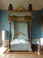 Four Poster Bed by fuguestock