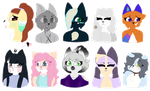 cuties (batch 1 of ?) by Starmations