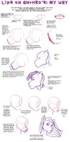 Tutorial: lips on anthro's by odduckoasis