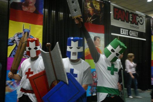 Castle Crashers by PIEOOKIE-MASTER