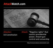 Attack Watch Constitution by Conservatoons