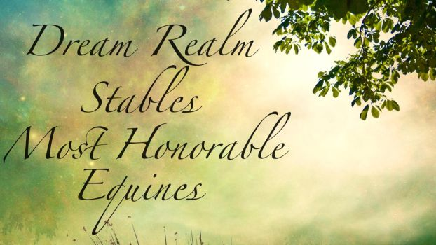 Dream Realm Stables Most Honorable Equines by StableDaydreams