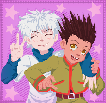 Hunter x Hunter - Killua and Gon by AllNamesAreClaimed12