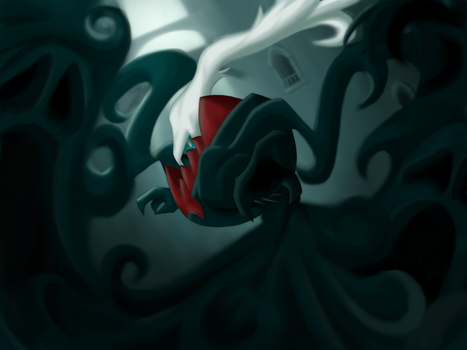 :Haunting your Dreams: Darkrai by endless-whispers