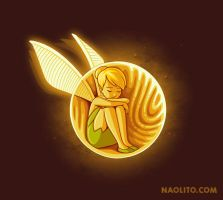 Inside the golden snitch by Naolito
