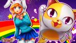 adventure time fionna and cake(with drawing video) by CoolBoysEnt