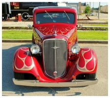 Chevy Street Rod Front View by TheMan268