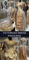 Victorian Dress Package by Avestra-Stock