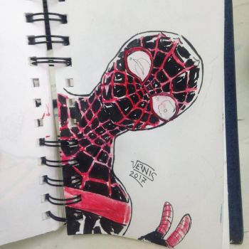 Miles morales Spider-man by grams2300