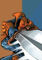 DeathStroke by andrew-henry