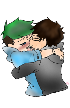Just One Kiss //Septiplier by tmntgirl101