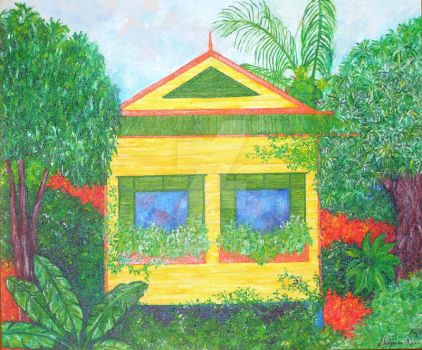 Chattel House by shazanna