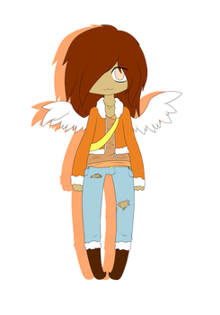Fall Angel Adopt by Vroomu