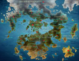 Map of Teirros by ForgetDeny