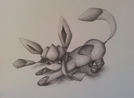 Glaceon by Valodeon